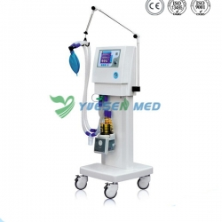 "High-definition 5.7"" LCD Screen Display Mobile Medical Ventilator YSAV201M"