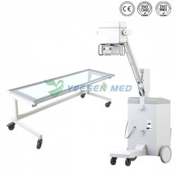 High frequency 100mA 5kw mobile medical x ray machine YSX100GM