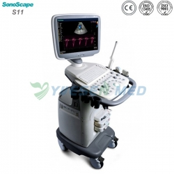 SonoScape S11 Trolley Color Doppler Ultrasound