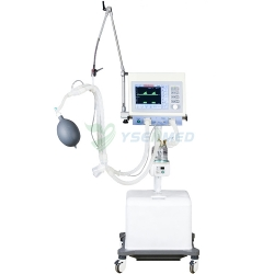 Medical Mobile ICU Ventilator With Air Compressor YSAV400A