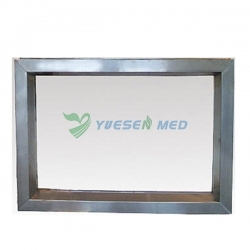 Leaded Window with Stainless Steel Frame