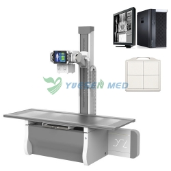 New Arrival 65KW/800mA High Frequency Digital X-ray System YSX800D